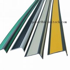 Stair Nose Anti-slip PVC Step Nosing Profiles