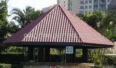 合成樹脂瓦鋼結構大跨度房屋瓦