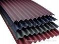Corrugated roofing tile Bitumen roofing system 1