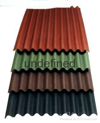 Bitumen Roof Sheet Corrugated Roofing Material Krs China Manufacturer Bricks Tiles Brick Tile Products Diytrade China