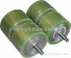 北京聚氨酯滾輪包膠加工