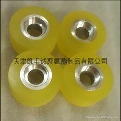 北京自動化設備用膠輪包膠加工