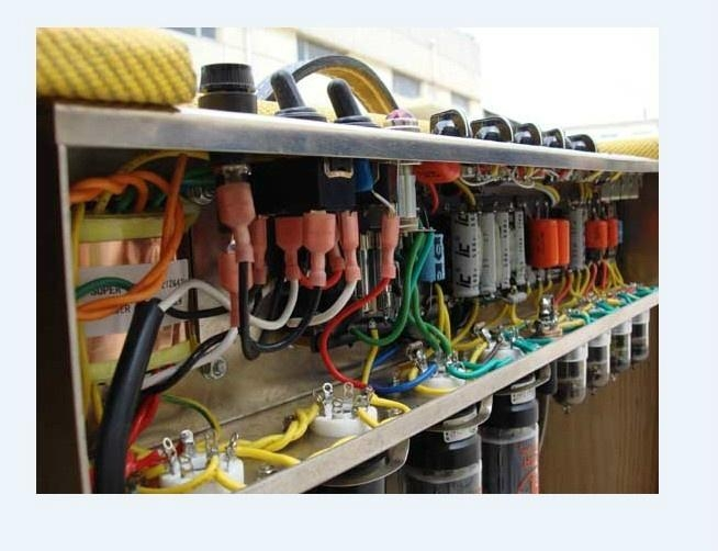 手工搭棚全电子管电吉他音箱40W 3