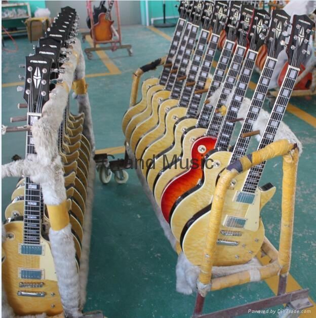 Guitar production warehouse.