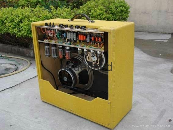 手工搭棚全电子管电吉他音箱40W 4
