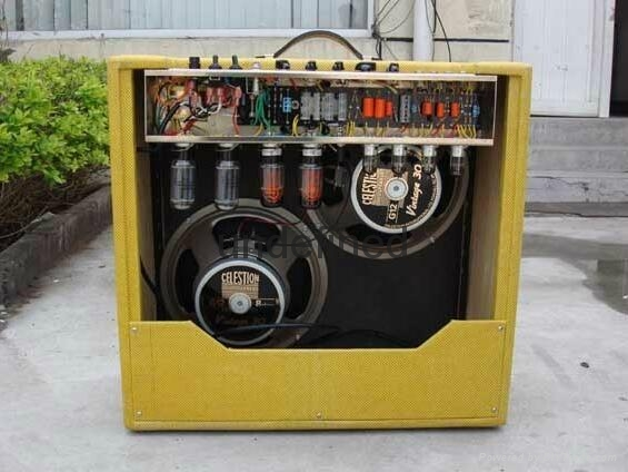 手工搭棚全电子管电吉他音箱40W 5