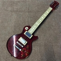 New Style Led Light Crystal Body LP Electric Guitar Acrylic Body