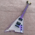 Custom Acrylic Body LED Light Rosewood Fretboard Electric guitar