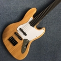 High quality custom 5 string bass guitar,Ebony Fingerboard,Elm guitar
