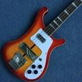 Cherry burst color Electric Bass guitar, 4 strings Bass guitarra