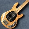 Custom 5 string bass guitar,Maple fingerboard,The body of Fraxinus mandshuric