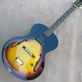 Custom L-5 Jazz electric guitar, one piece P90 pickup hollow body jazz guitar
