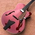 Best jazz hollow electric guitar, A piece of pickups Jazz electric guitar