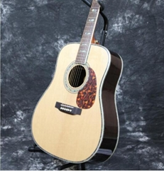 Solid Spruce With Fishman 101 EQ Grover Tuner Acoustic Guitar
