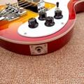 Rick 4003 model Ricken 4 strings Electric Bass guitar in Cherry Chrome Hardware