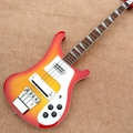 Rick 4003 model Ricken 4 strings Electric Bass guitar in Cherry Chrome Hardware