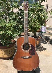 "Martin Quality D45S Classical Acoustic Guitar 41"" Solid Spruce Top Rosewood back"