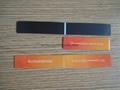 Paper printed magnetic bookmark