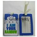 Soft PVC Handbag Tag
