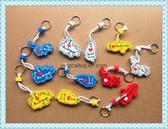 防掉EVA 鑰匙扣;漂浮鑰匙扣;海綿鑰匙扣