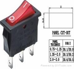 供应跷板开关PS8C-6