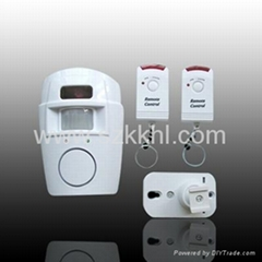 Wireless Sensor Detector Alarm with Remote Control(KK 105)