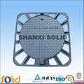 cast iron manhole cover en124 b125