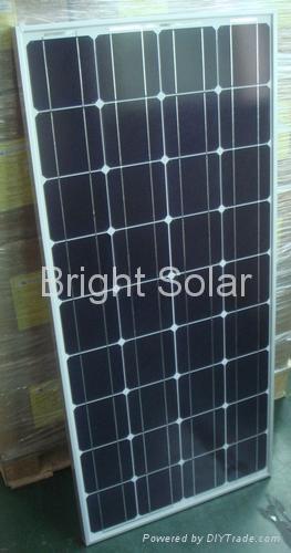 100W Glass Solar Panel 1