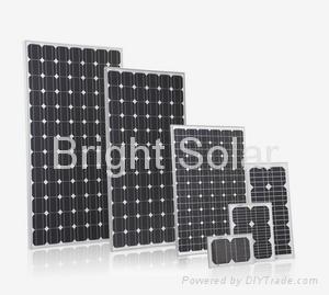 100W Glass Solar Panel 2