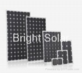 140W Glass Solar Panel