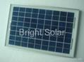 10W Glass Solar Panel