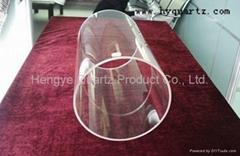 High Pressure Large Diameter Quartz Glass Tube