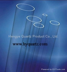 Low OH Quartz Glass Tube