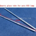 195mm length low OH quartz glass tube