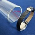 High pressure large diameter quartz glass tube 2