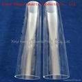 High pressure large diameter quartz glass tube 4