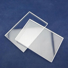 10mm thickness JGS2 transparent quartz plate