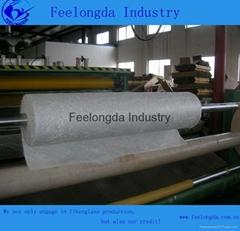 fiberglass chopped strand mat for boat hull