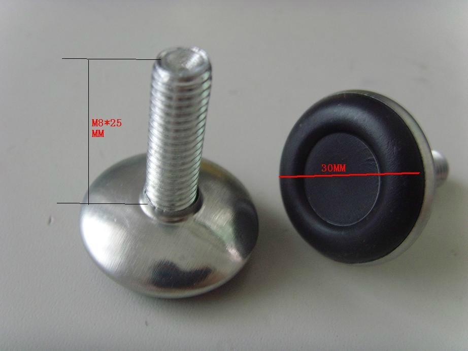 可調節螺絲塑料腳墊 2