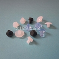 5mm防撞胶颗粒珠 家具木板钉孔塞堵 扣式透明胶塞头软防碰撞粒 2