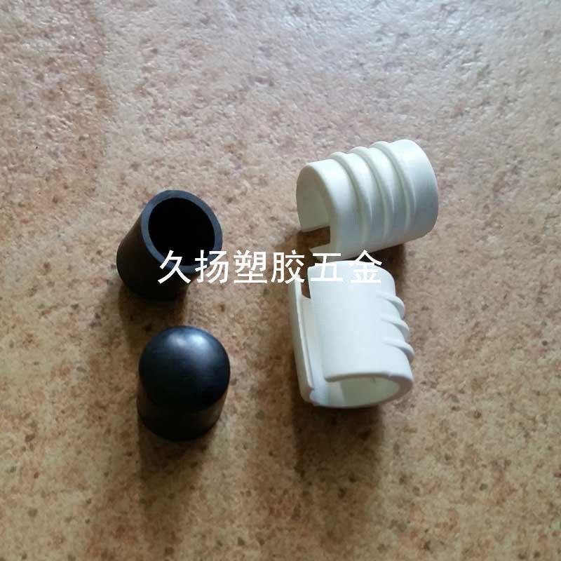 開口防滑腳墊套腳墊卡套管套圓管止滑腳墊防滑膠套 1