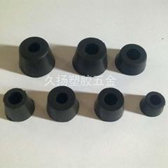 工业橡胶机脚防震胶垫螺丝脚垫电子仪器机箱机脚减震垫