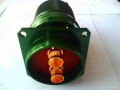 供应2芯200A圆形电源连接器