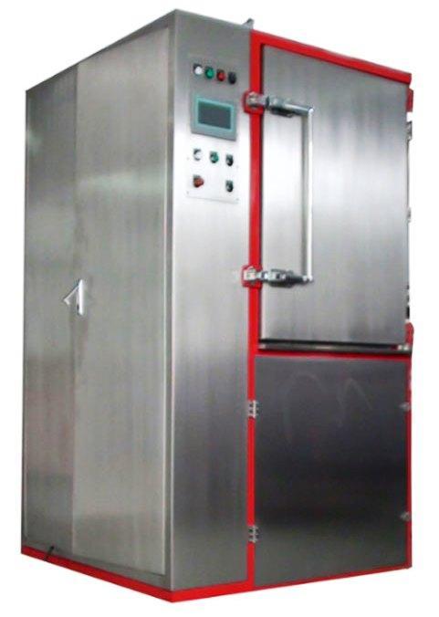 Cryogenic Deflashing Machine for Rubber Shoe Soles 3