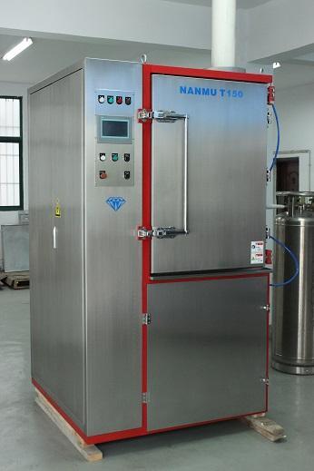 Cryogenic Deflashing Machine for Rubber Shoe Soles 5