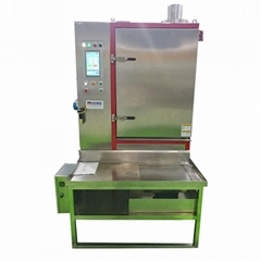 Cold Shot Nitrogen deburring Machine for Rubber and Plastic Deflashing