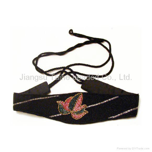 手工珠繡腰帶 1