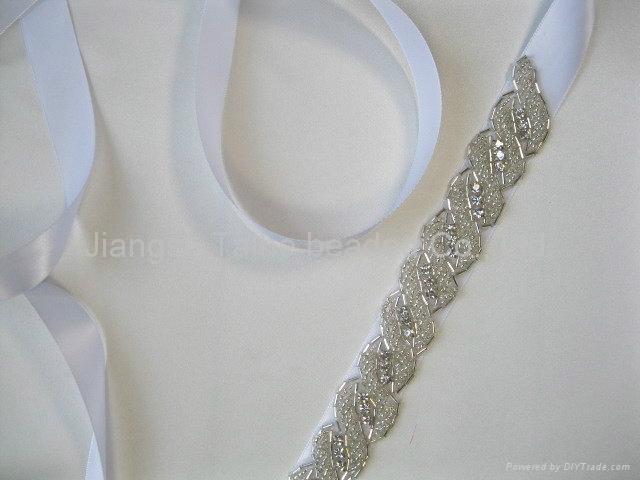 handmade beaded sequin belt 3
