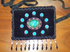 廠家直銷金絲絨釘珠包 珠繡手袋