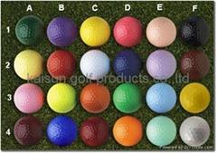 color golf balls/mini go